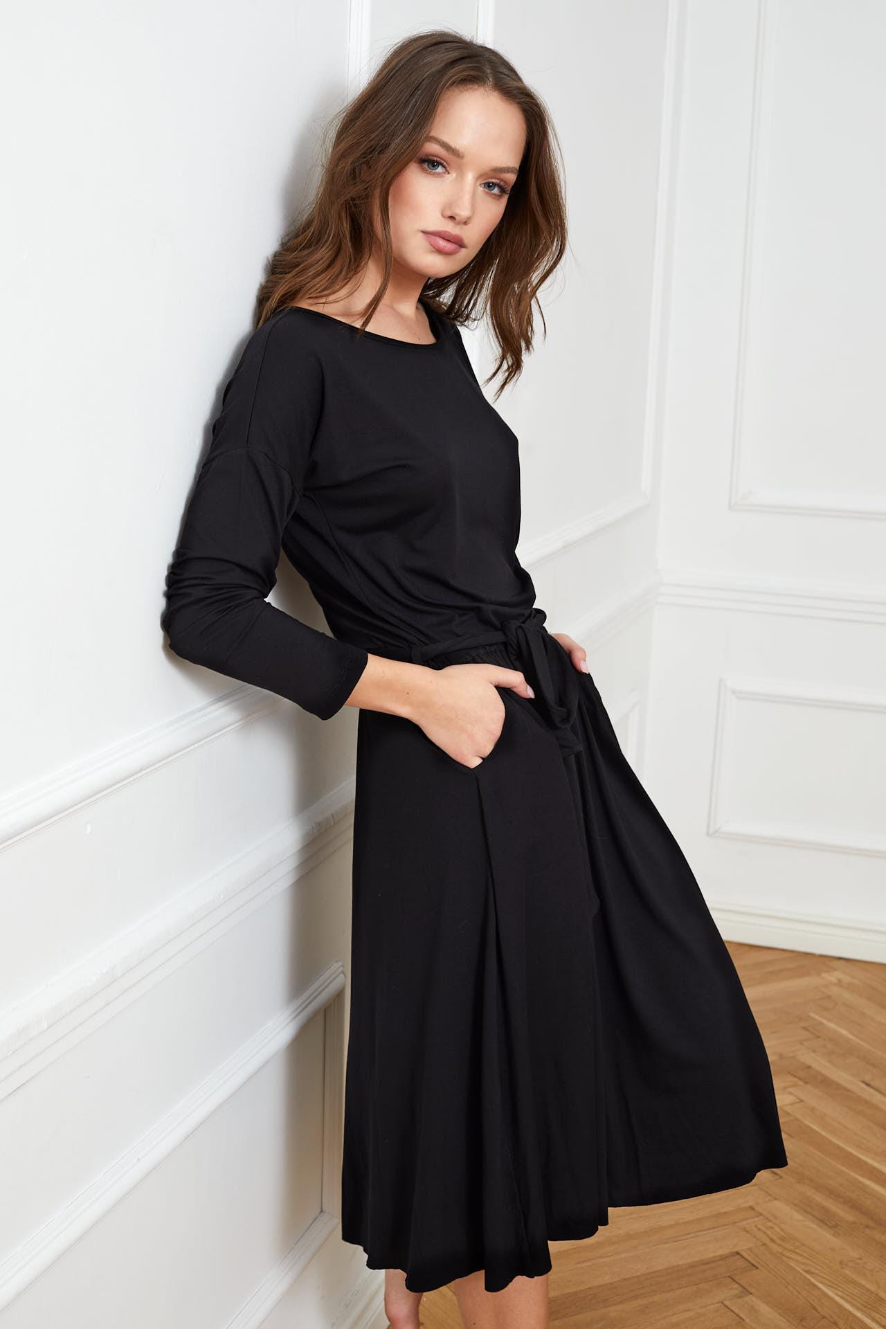 sukienka Marie czarna flawless