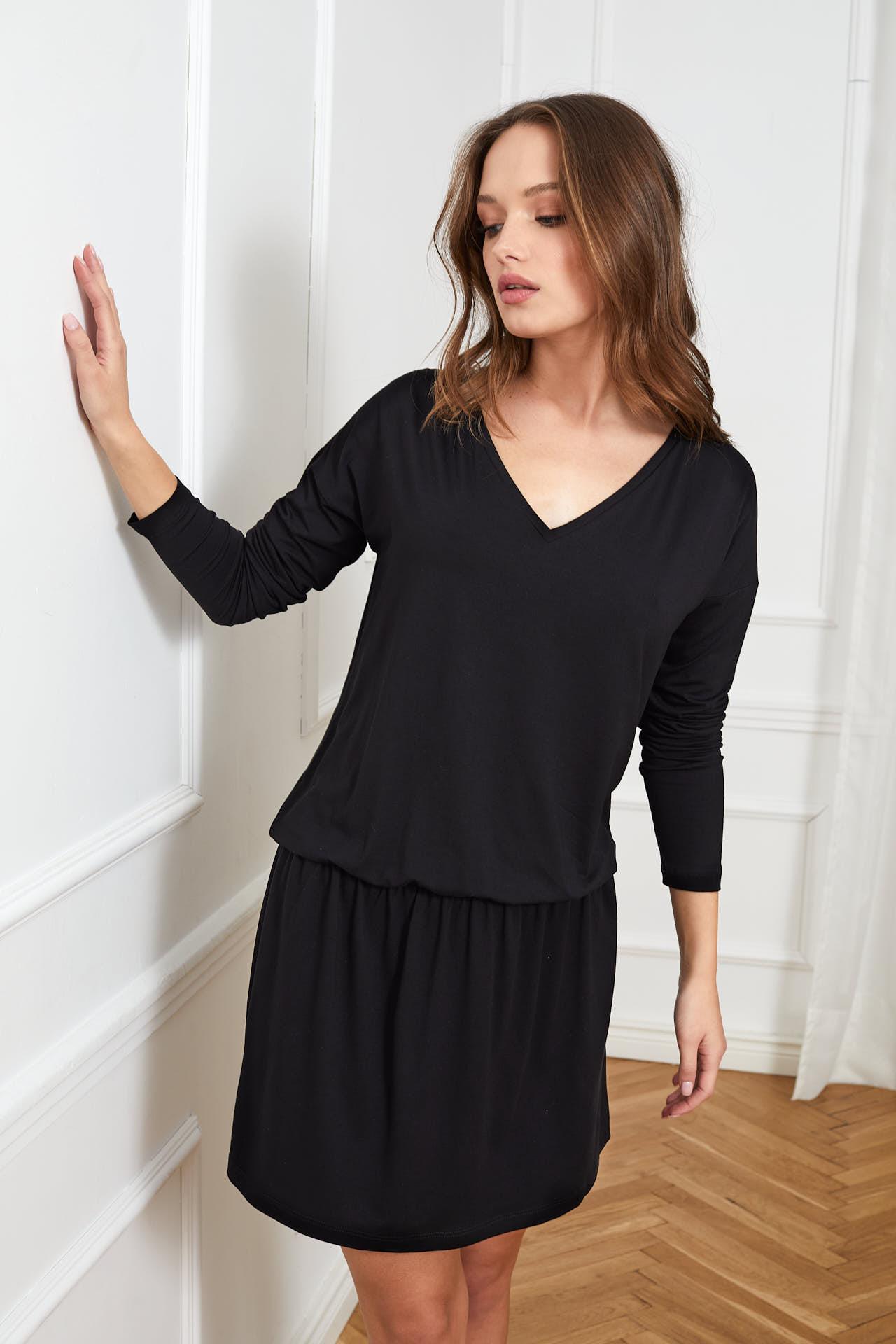sukienka Harper czarna flawless