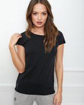 t-shirt Olivia basic czarny flawless