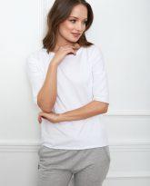 bluzka Luna basic biała flawless