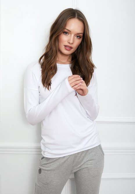 bluzka Emma basic biała flawless