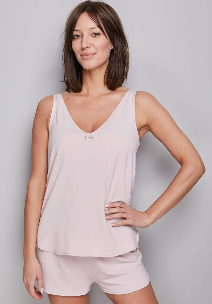 TANK TOP POWDER PINK
