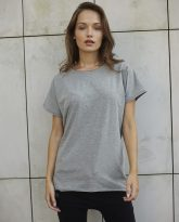 T-SHIRT LILY SZARY