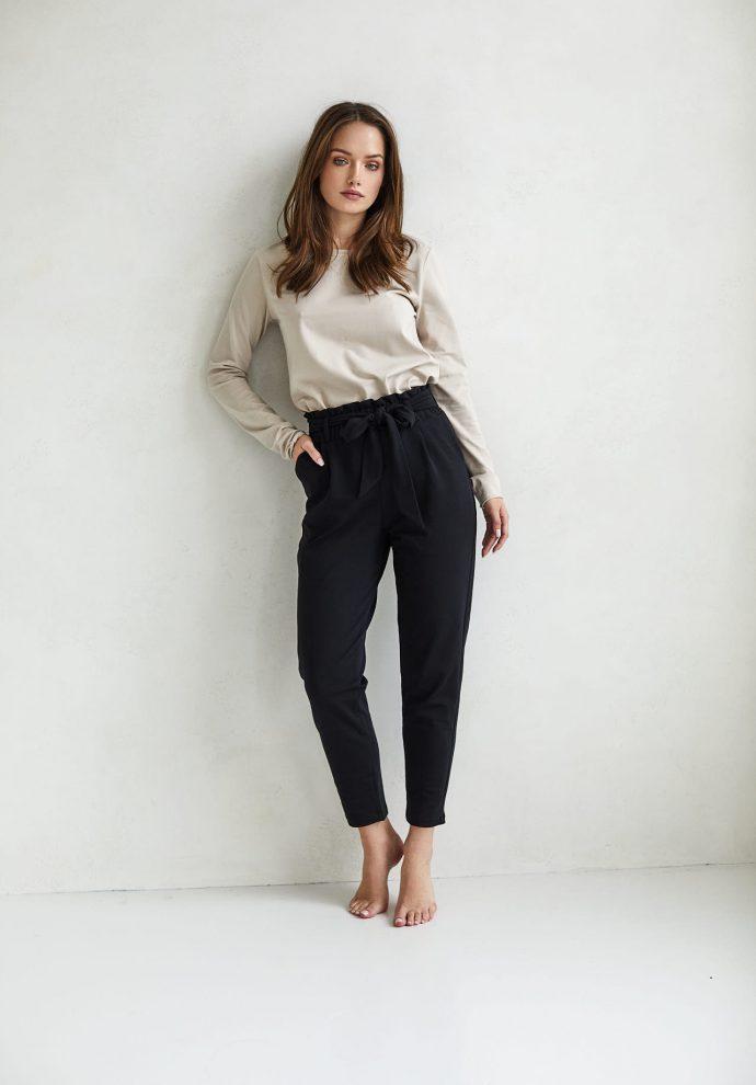spodnie Nora czarne