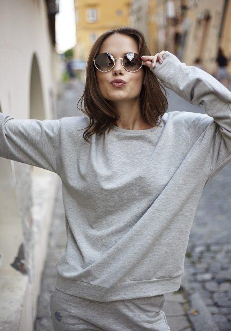 bluza Ana szara flawless