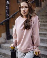 bluza Ana różowa flawless