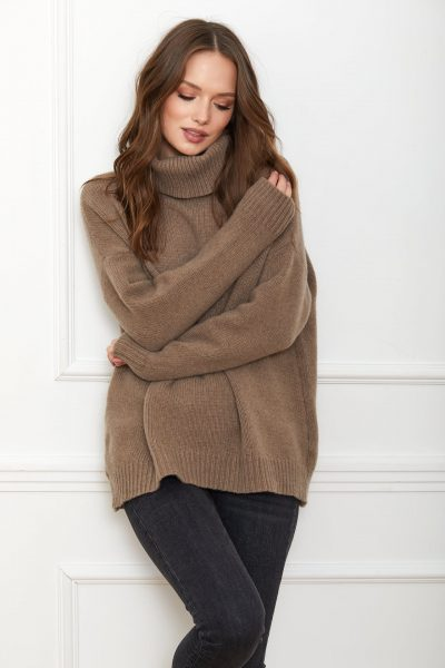 SWETER ADELE TAUPE