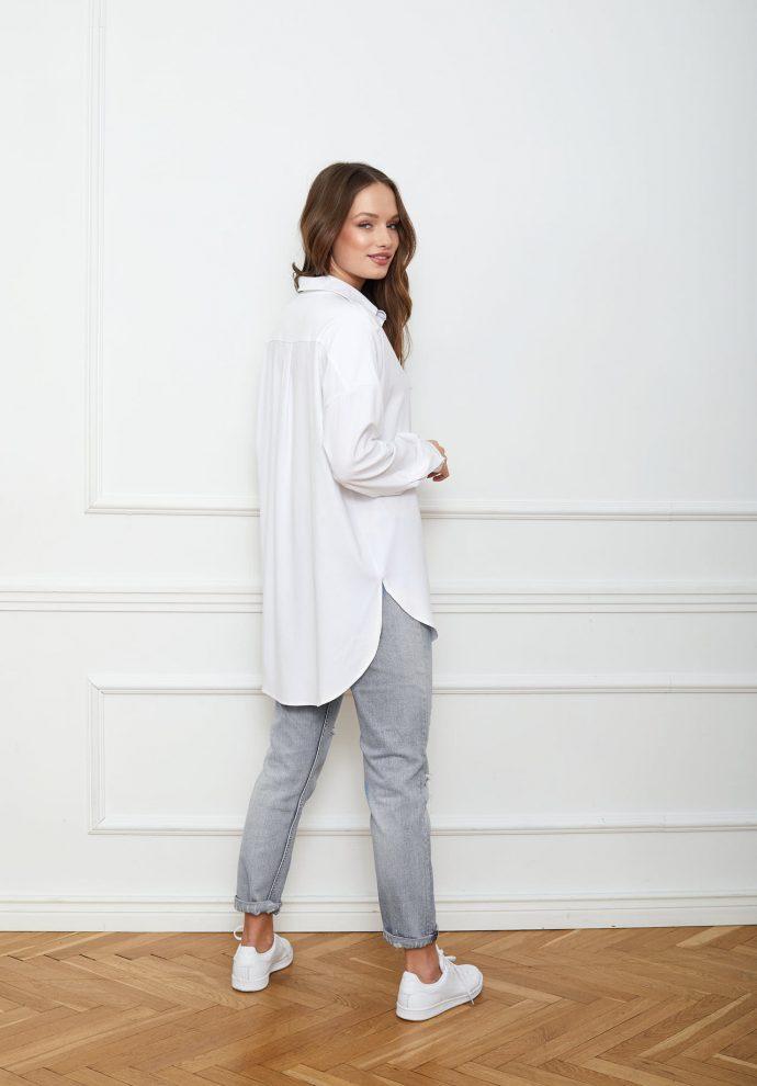 Koszula biała LISA- zdjęcie 4