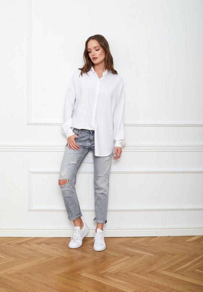 Koszula biała LISA- zdjęcie 3