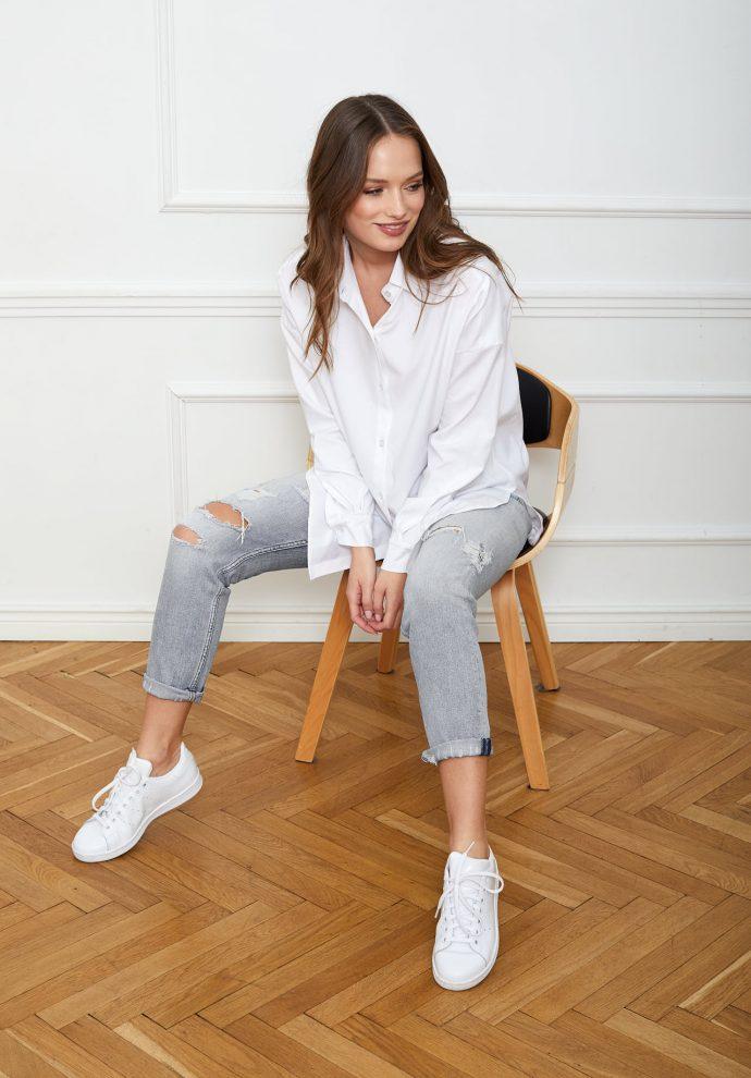 Koszula biała LISA- zdjęcie 5