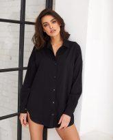 Koszula czarna Lisa