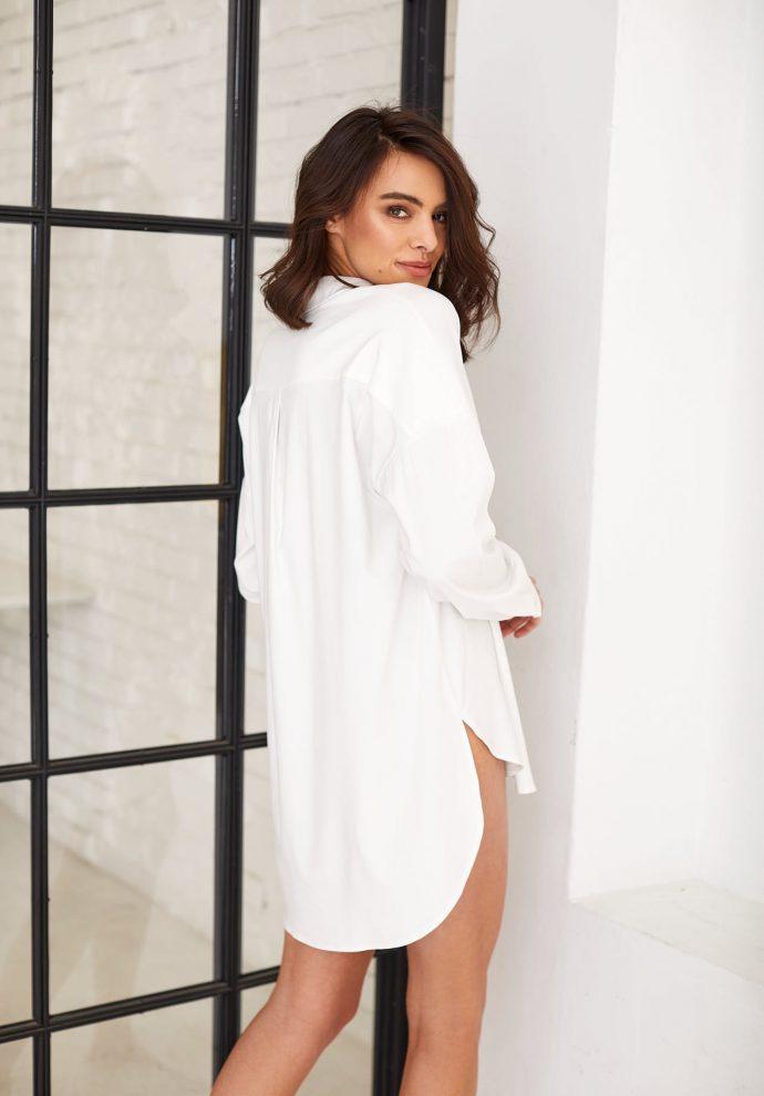 Koszula biała LISA- zdjęcie 2