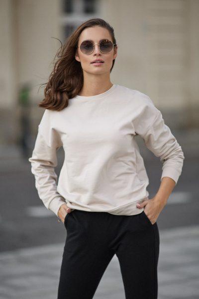bluza Ana piaskowa- zdjęcie 5