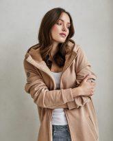bluzo -płaszcz Carla kamelowa - zdjęcie 3