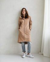 bluzo -płaszcz Carla kamelowa - zdjęcie 4