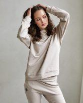 bluza Ana piaskowa - zdjęcie 2
