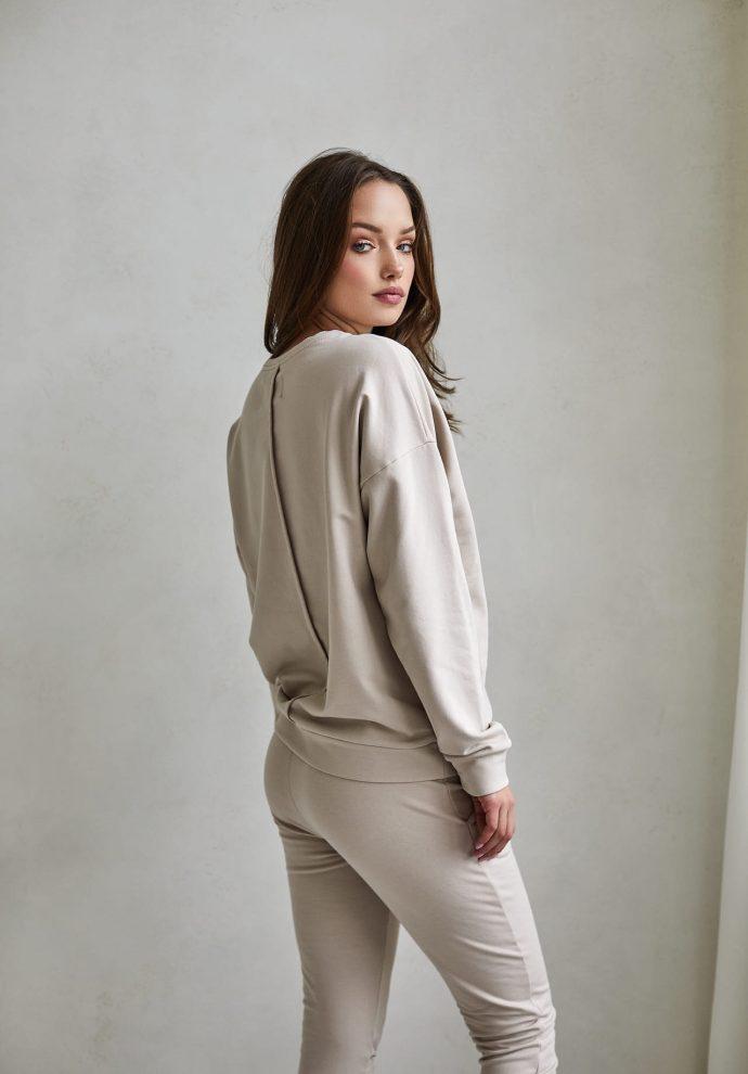 bluza Ana piaskowa - zdjęcie 3