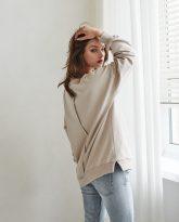 Bluza Camilla piaskowa- zdjęcie 3