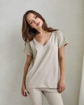 t-shirt Ella piaskowy