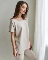 t-shirt Alice piaskowy