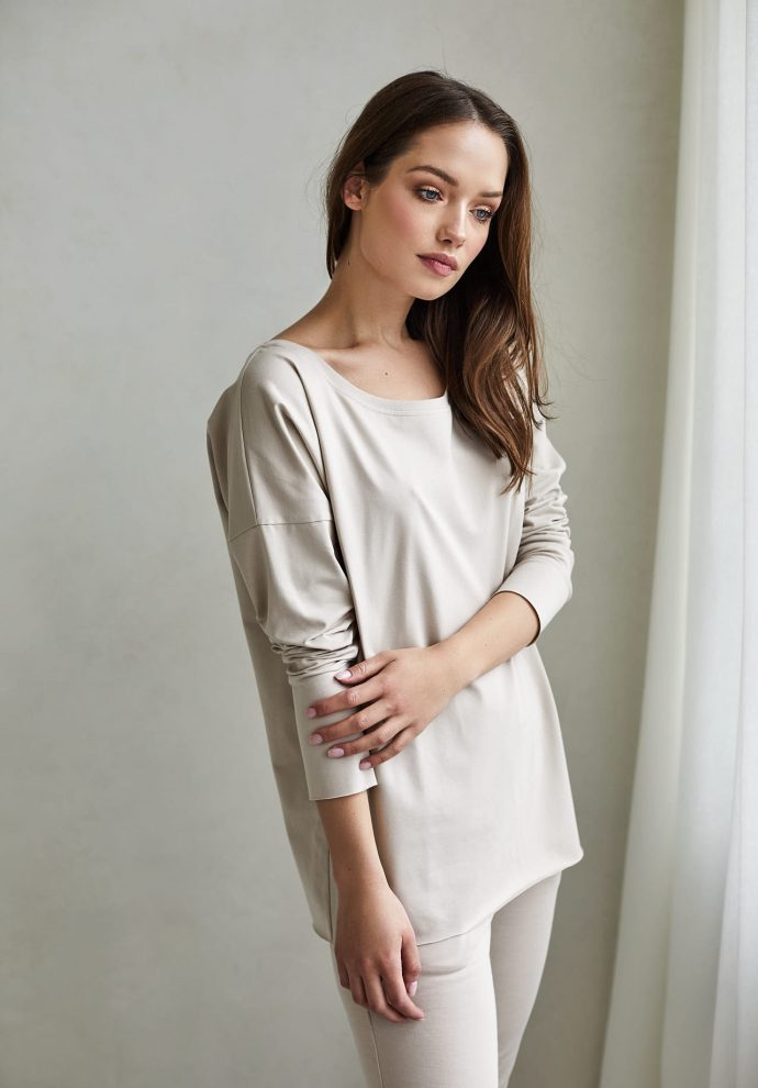 bluzka Emilly piaskowa