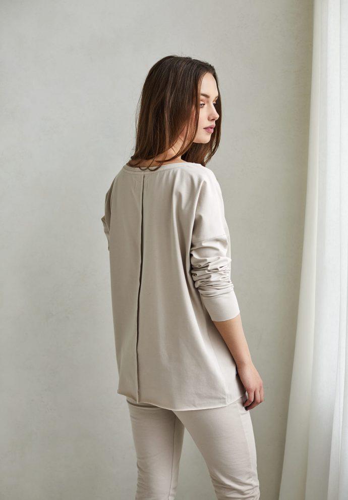 bluzka Emilly piaskowa - zdjęcie 2