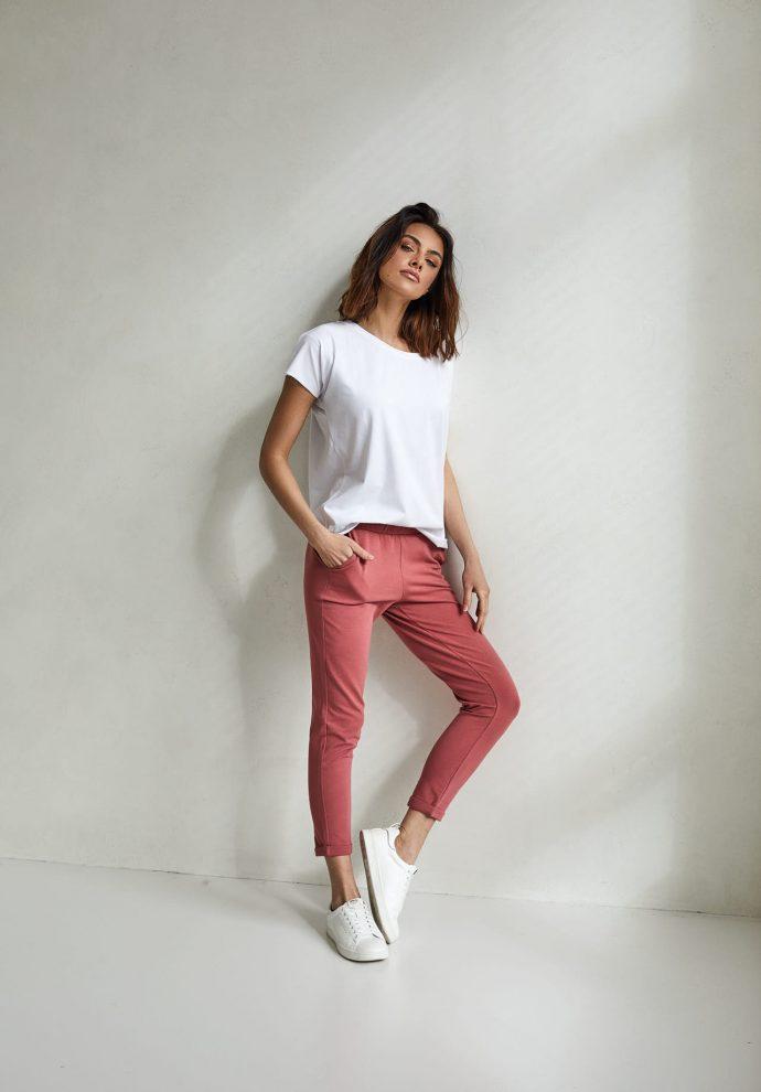 spodnie Bianca koralowe