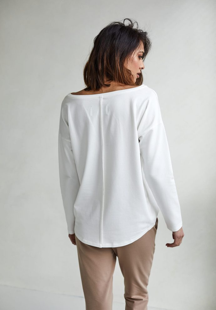 bluzka Stella ecru- zdjęcie 2