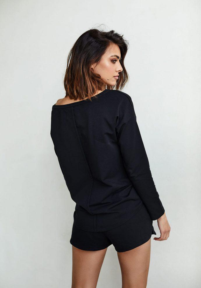 bluzka Stella czarna- zdjęcie 2