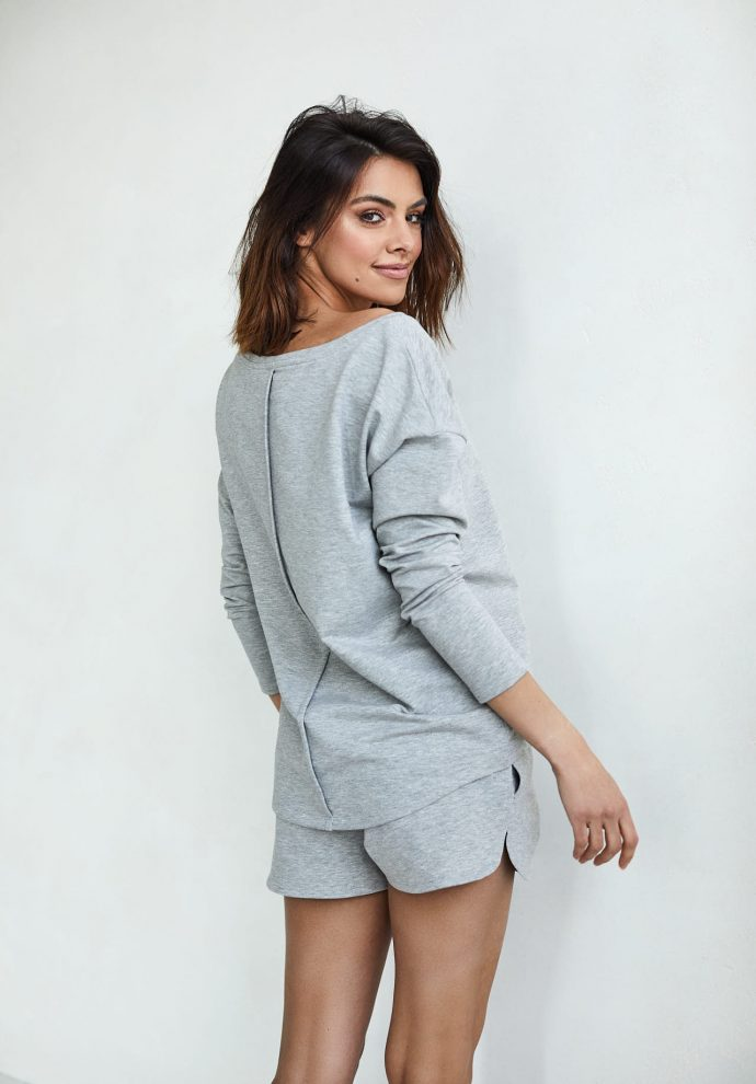bluzka Stella szara- zdjęcie 2