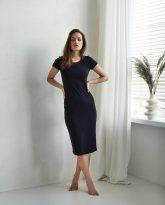 sukienka ściągaczowa Suzane czarna