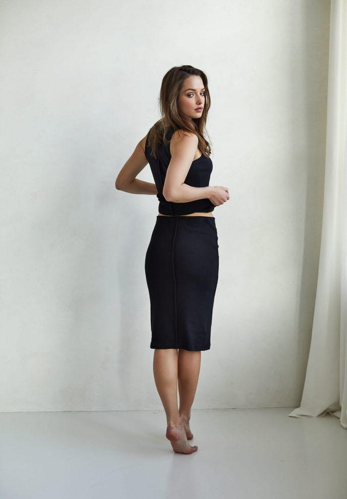 spódnica Suzane czarna- zdjęcie 2