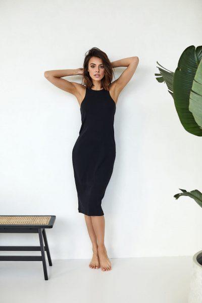 sukienka bokserka Suzane czarna