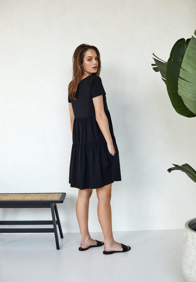 sukienki Karen czarna- zdjęcie 3