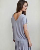 bluzka Noemi szara- zdjęcie 3