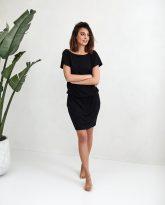 sukienka Patrizia czarna- zdjęcie 2