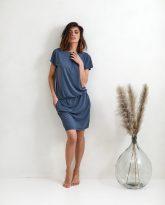 Sukienka Patrizia denim- zdjęcie 2