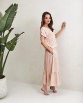 Sukienka Maggie różowa- zdjęcie 2