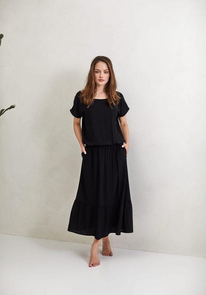 Sukienka Maggie czarna- zdjęcie 2