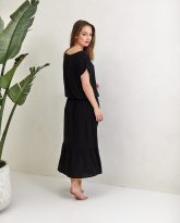 Sukienka Maggie czarna- zdjęcie 3