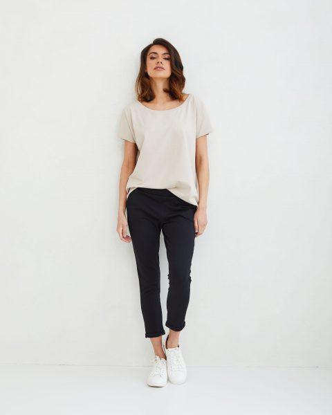 spodnie Bianca czarne