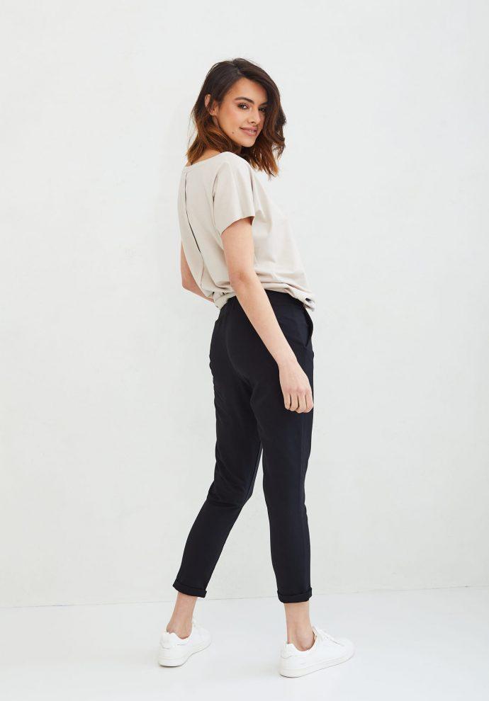 spodnie Bianca czarne- zdjęcie 2