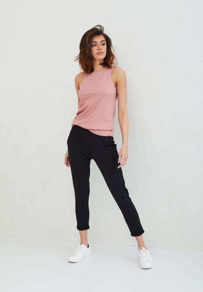 spodnie Bianca czarne- zdjęcie 3