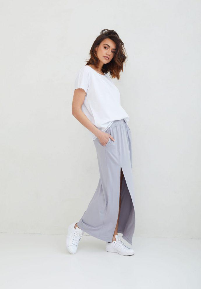 długa szara spódnica Judi