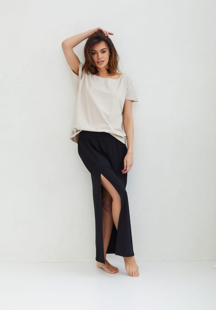 długa czarna spódnica Judi