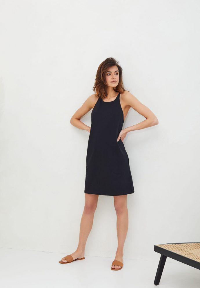 Sukienka Livia czarna- zdjęcie 2