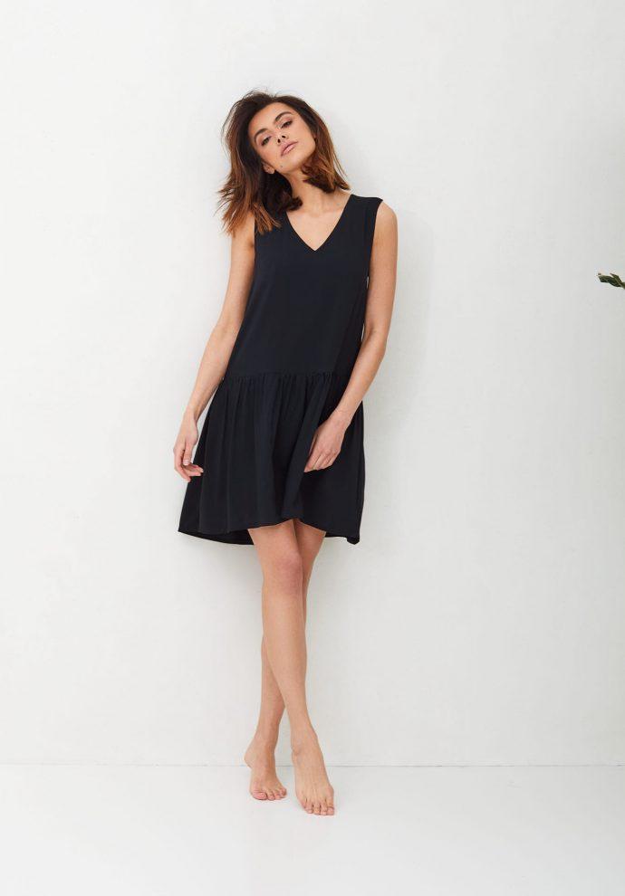 Czran sukienka z falbana Claire