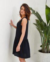 Czran sukienka z falbana Claire- zdjęcie 2