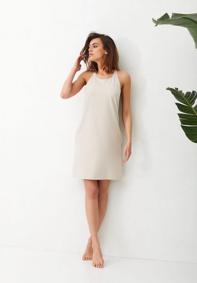 Sukienka Livia piaskowa