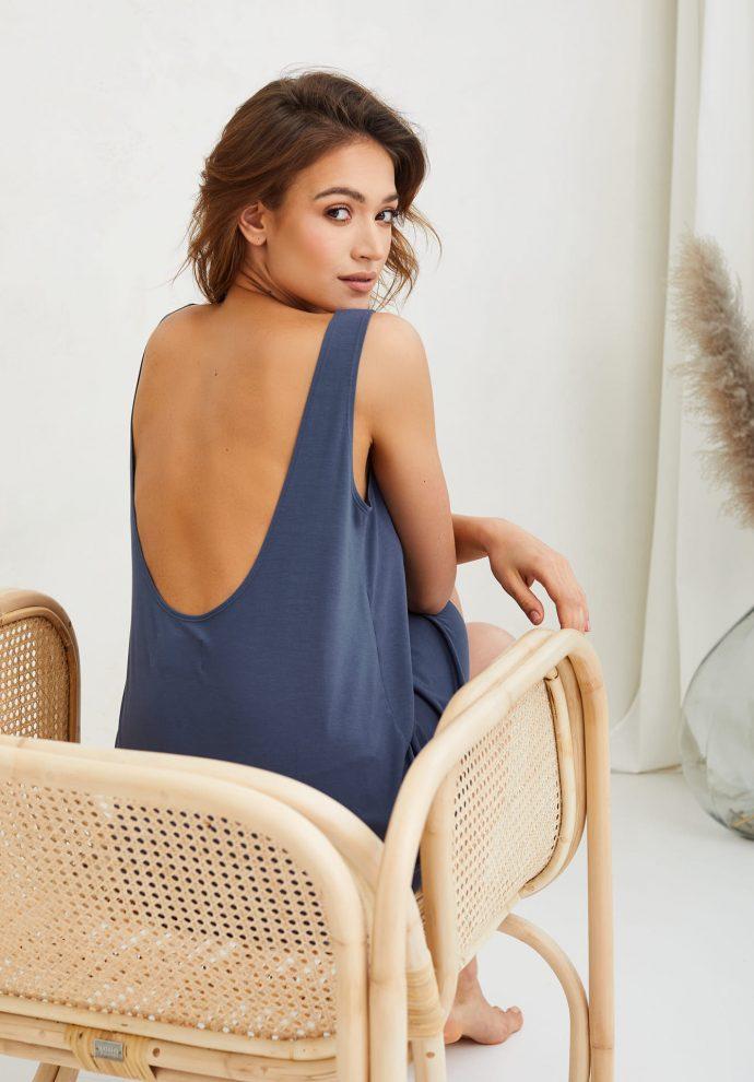 sukienka Chloe denim- zdjęcie 3